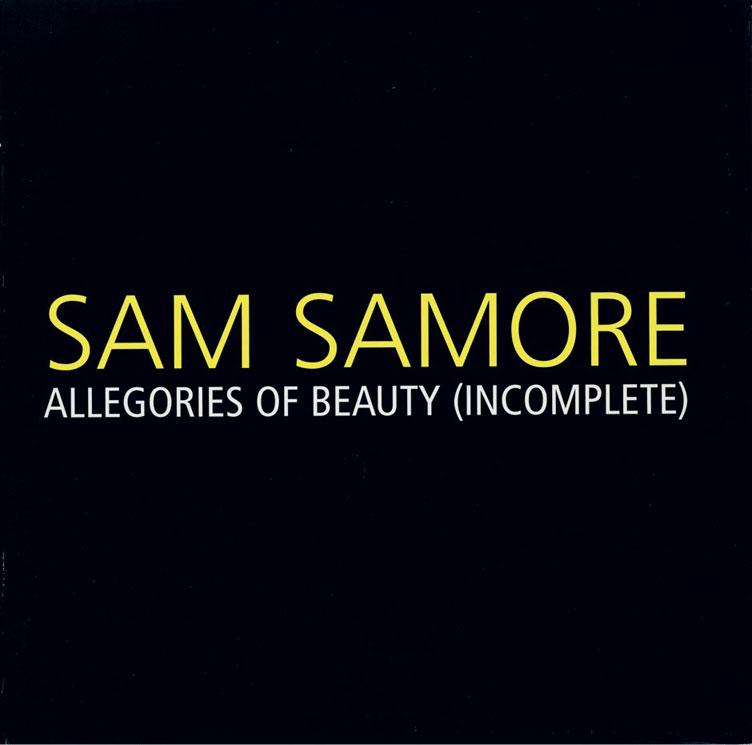 Allegories of Beauty (Incomplete)