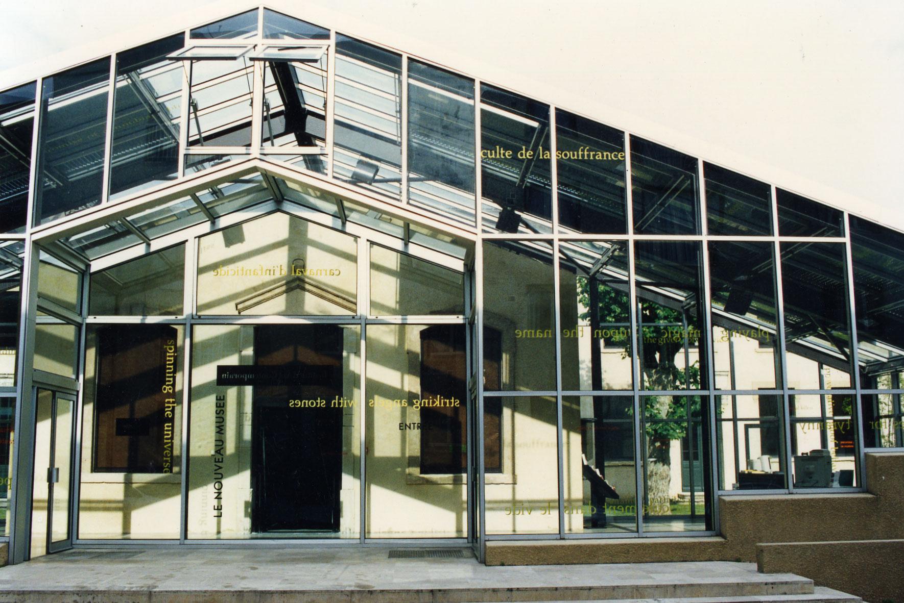 Le Nouveau Musée, 1997 (1 of 2)