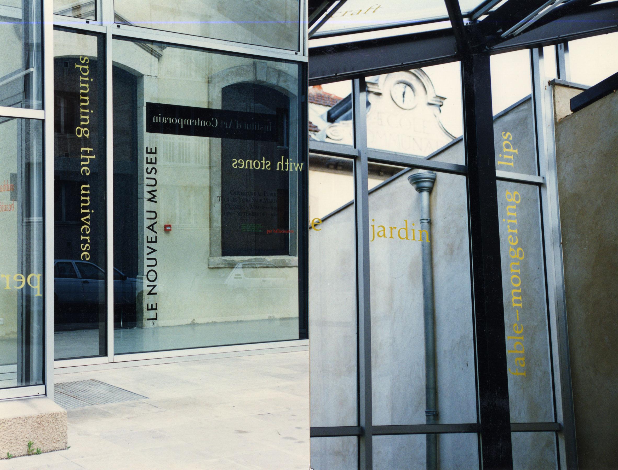 Le Nouveau Musée, 1997 (2 of 2)